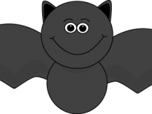 Halloween bat best for. Bats clipart cute