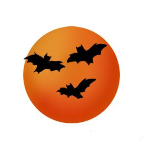 Happy halloween saying booo. Bats clipart ghost