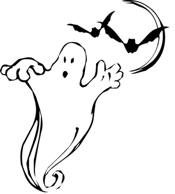 Bats clipart ghost. Free halloween images ghosts