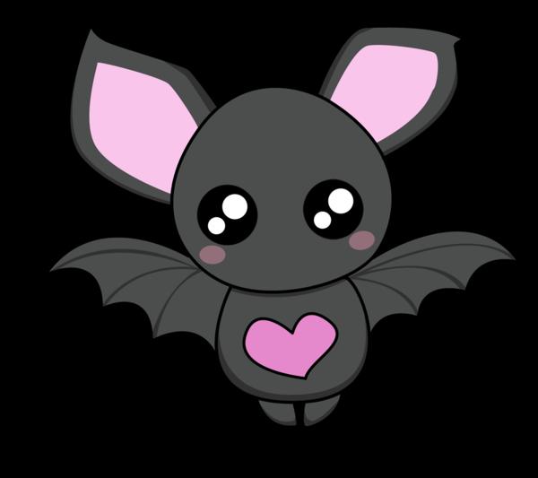 Cute by o yuriko. Clipart cat bat