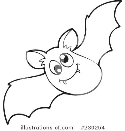 Cilpart opulent ideas outline. Bat clipart black and white
