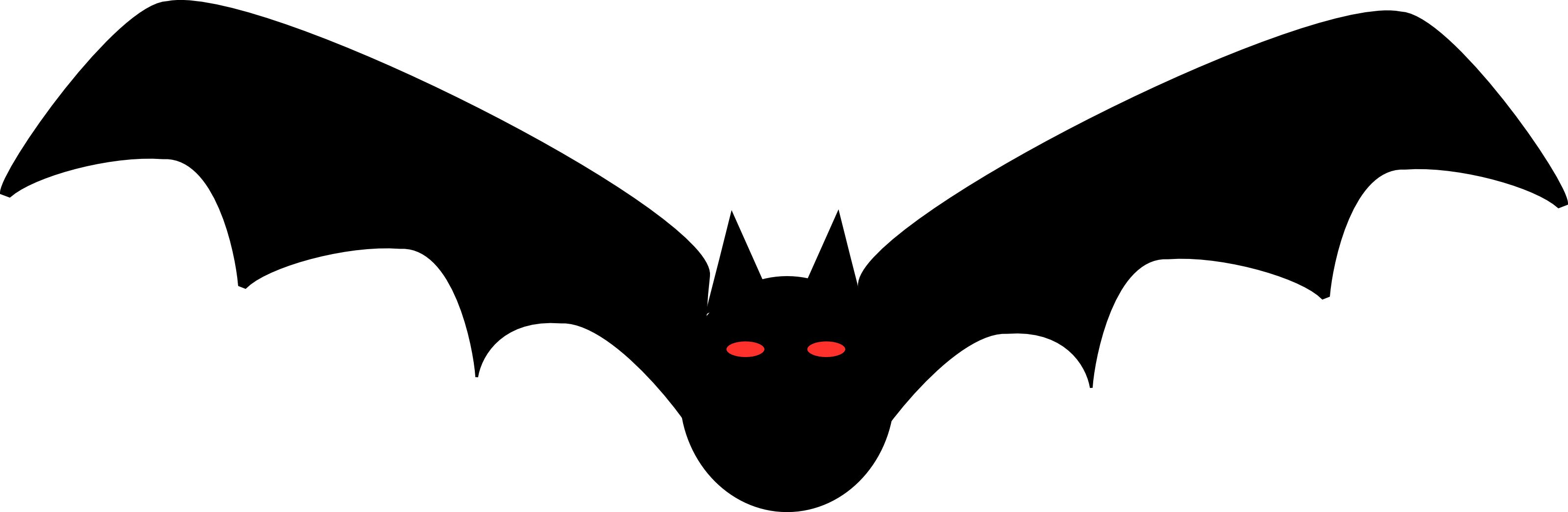Free halloween illustration of. Eyes clipart bat