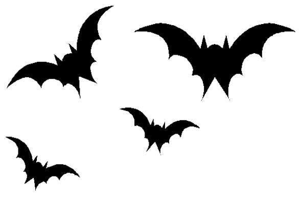 Bats silhouette at getdrawings. Bat clipart bird