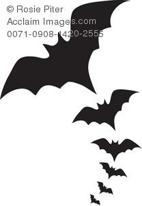 Bat stock photography acclaim. Bats clipart silhouette
