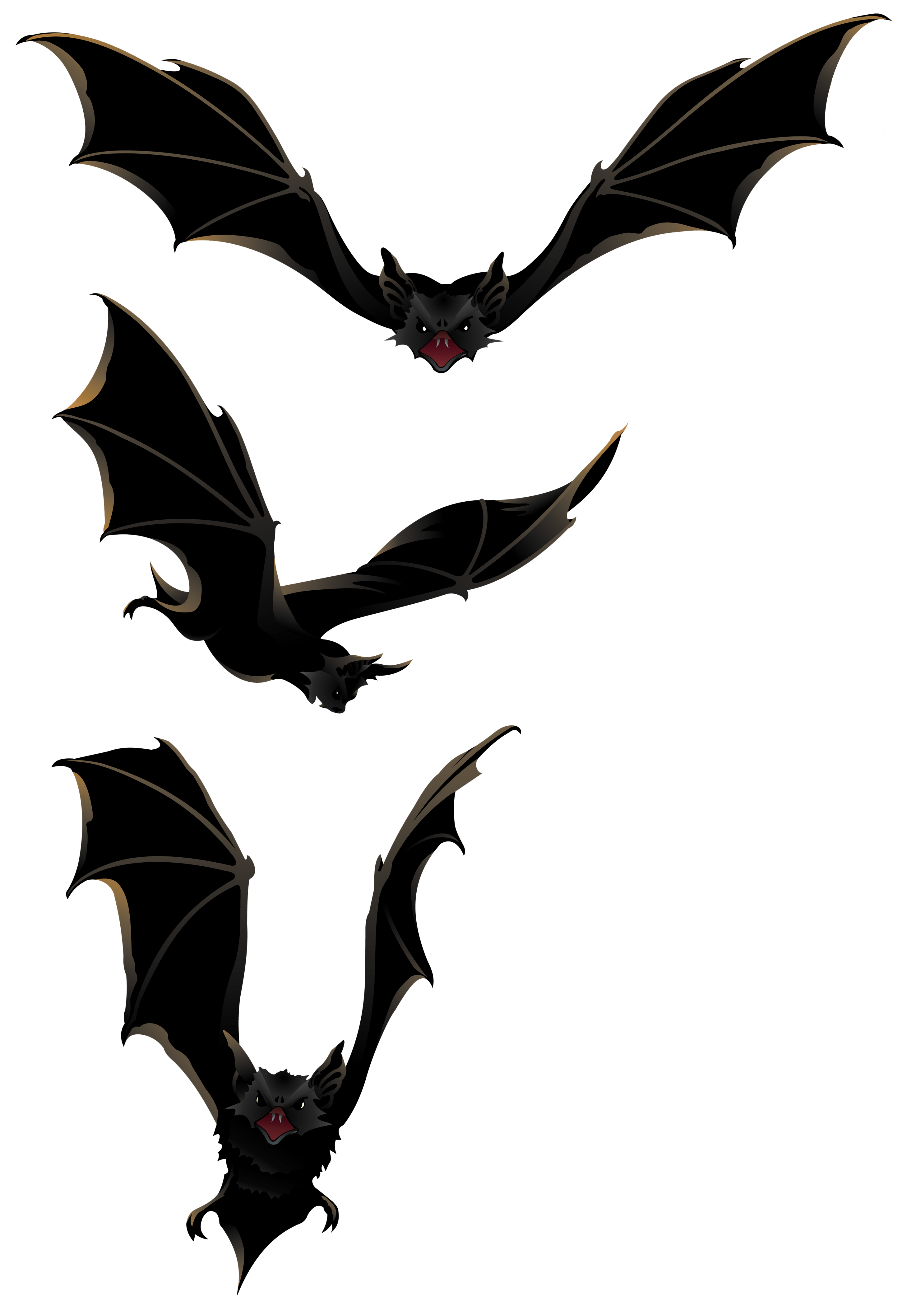 Silhouette clipart bat. Halloween png bats gallery