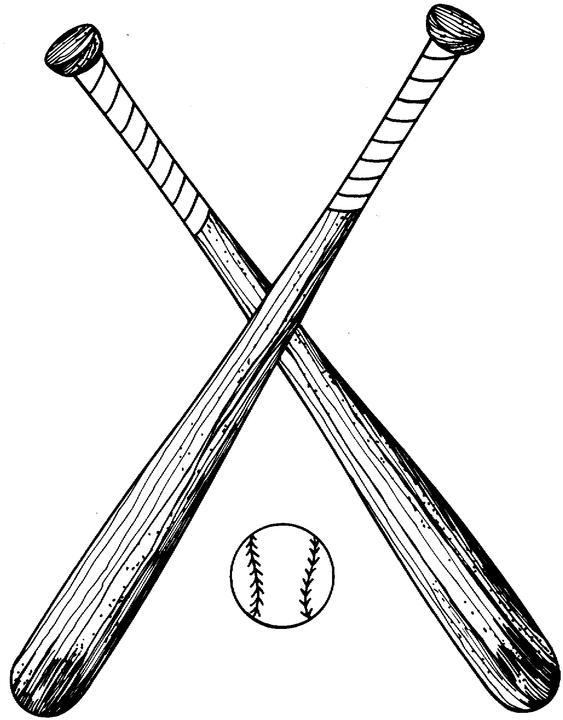Baseball bat clip art. Bats clipart vector