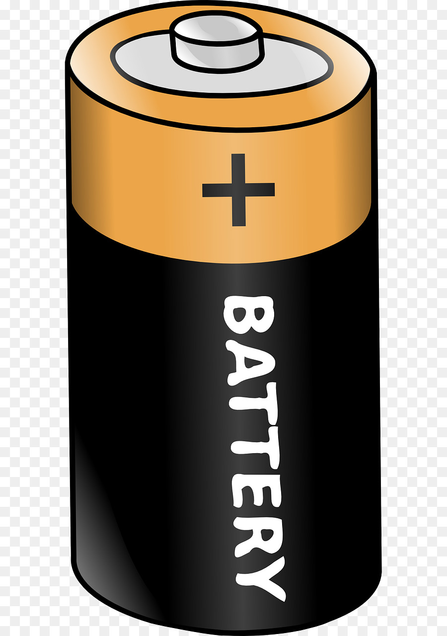 Cartoon energy electricity product. Battery clipart