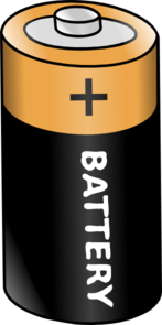 Icon clip art panda. Battery clipart