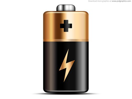 Free and vector graphics. Battery clipart