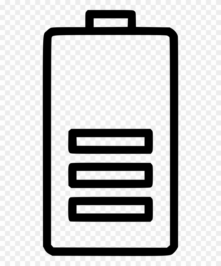 Battery clipart. Half energy electric electricity