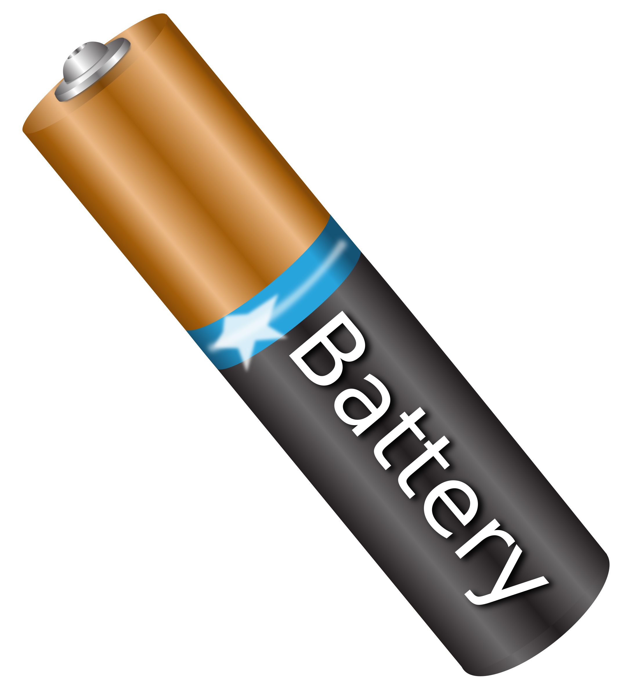 Battery clipart aa battery. Aaa big image png