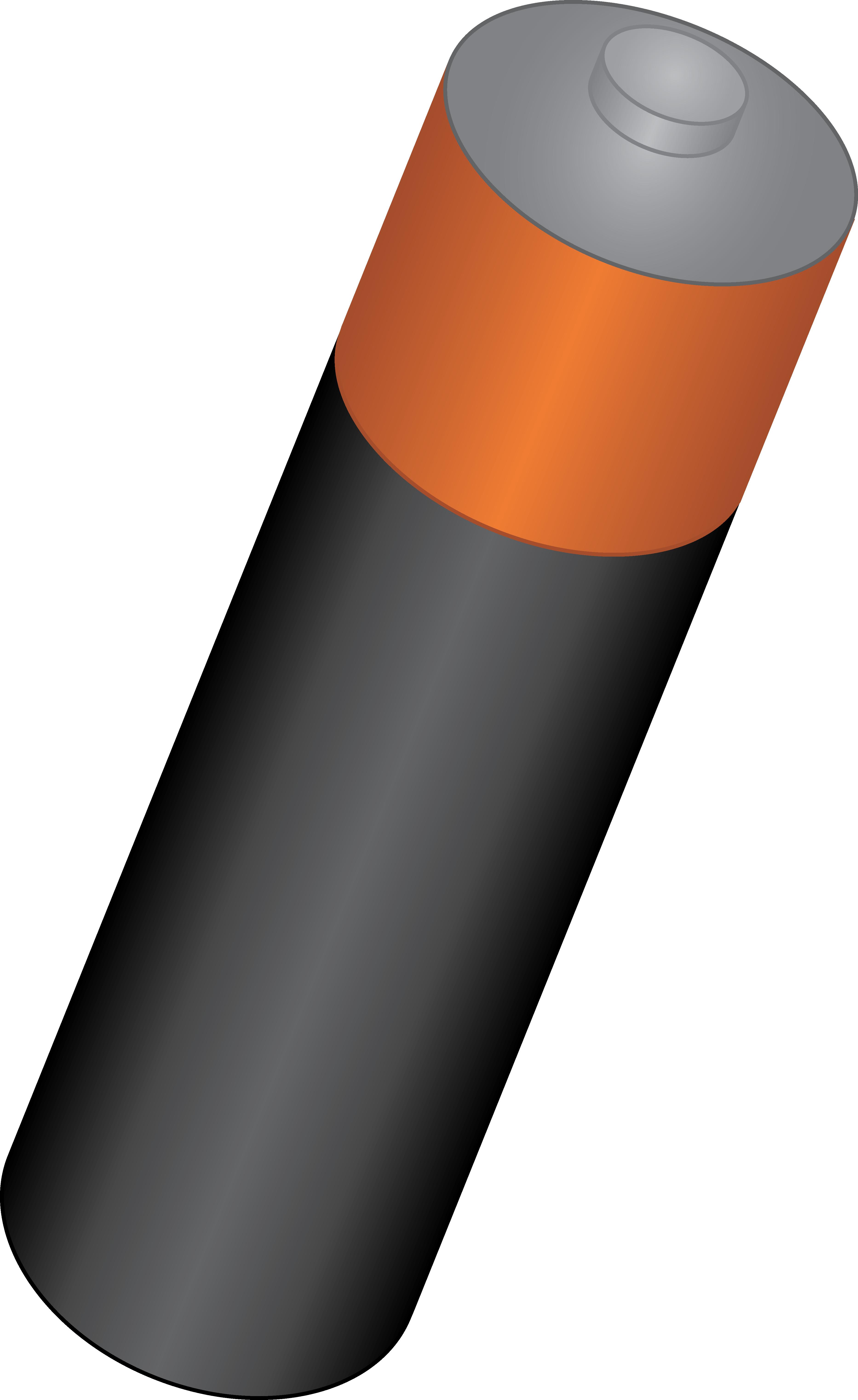 Single free clip art. Battery clipart aa battery