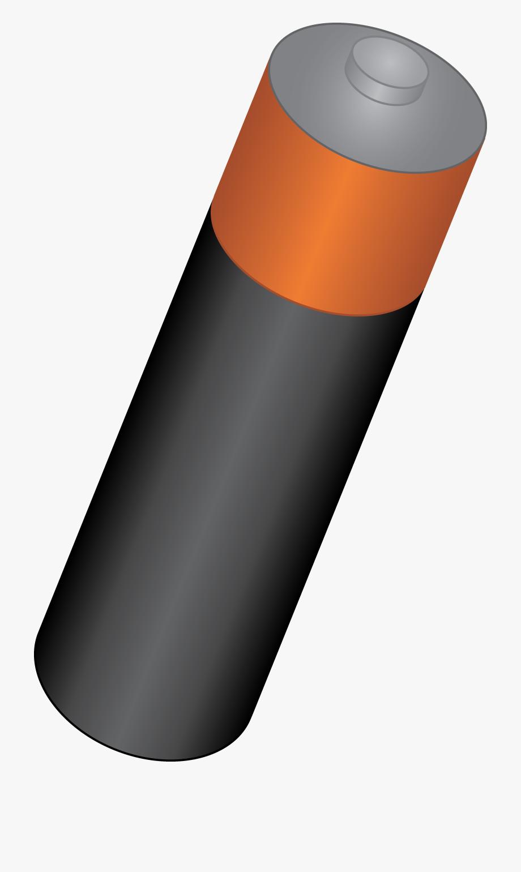 Battery clipart aa battery. Single double a cartoon