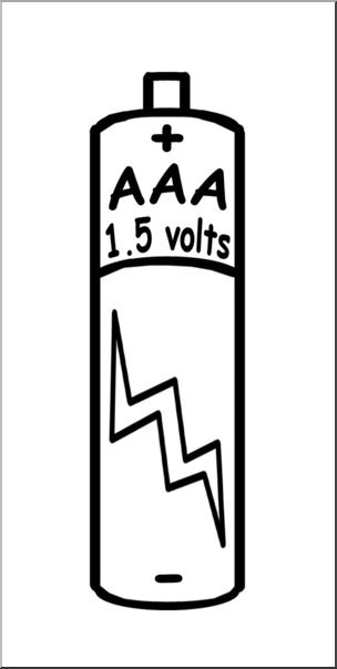 Battery clipart aaa battery. Clip art electricity b