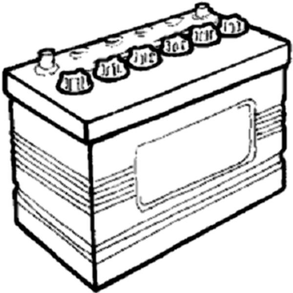 Drawing at getdrawings com. Battery clipart black and white