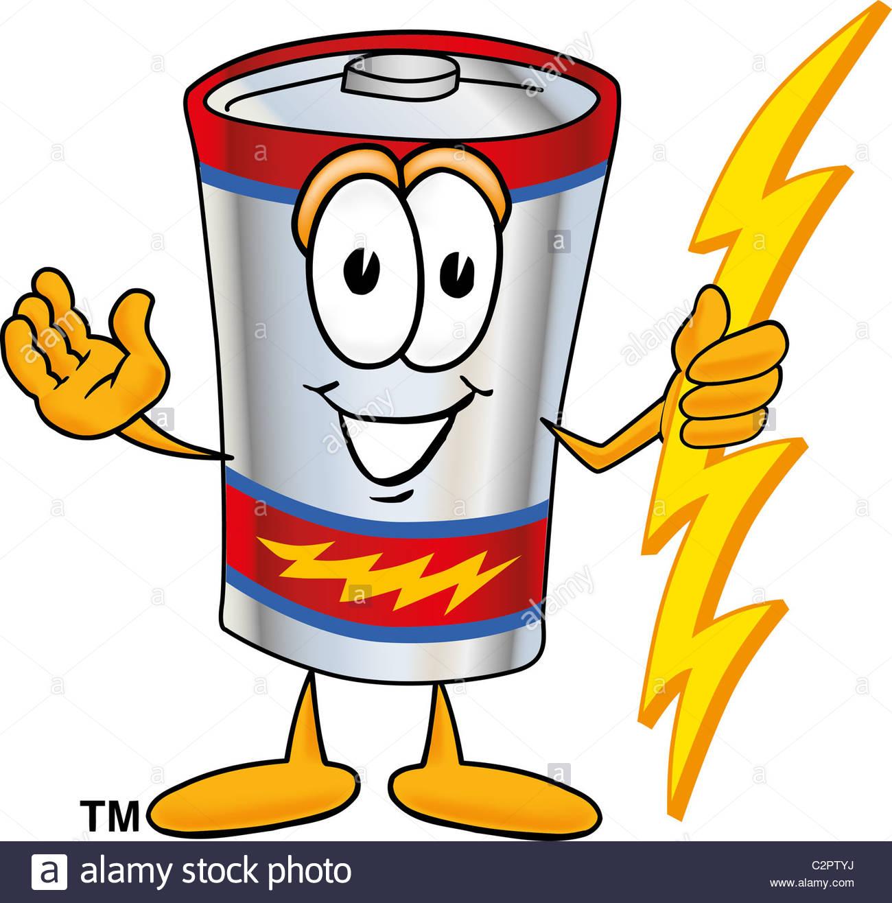 Battery clipart cartoon. Lighting bolt free download