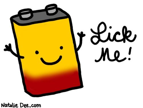 Battery clipart comic. By natalie dee hes