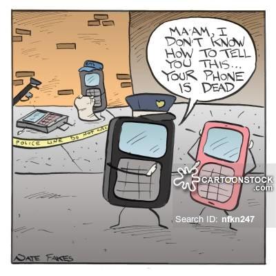 Dead cartoons and comics. Battery clipart comic