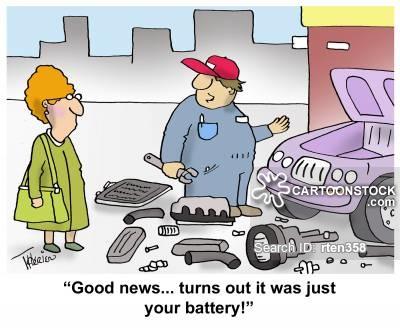 Car batteries cartoons and. Battery clipart comic