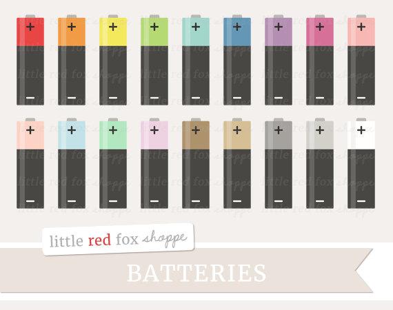 battery clipart cute