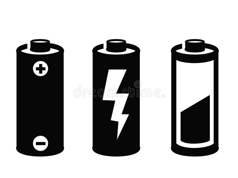 Battery clipart cylinder. Black and white station