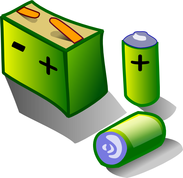 Battery clipart cylinder. Batteries clip art at