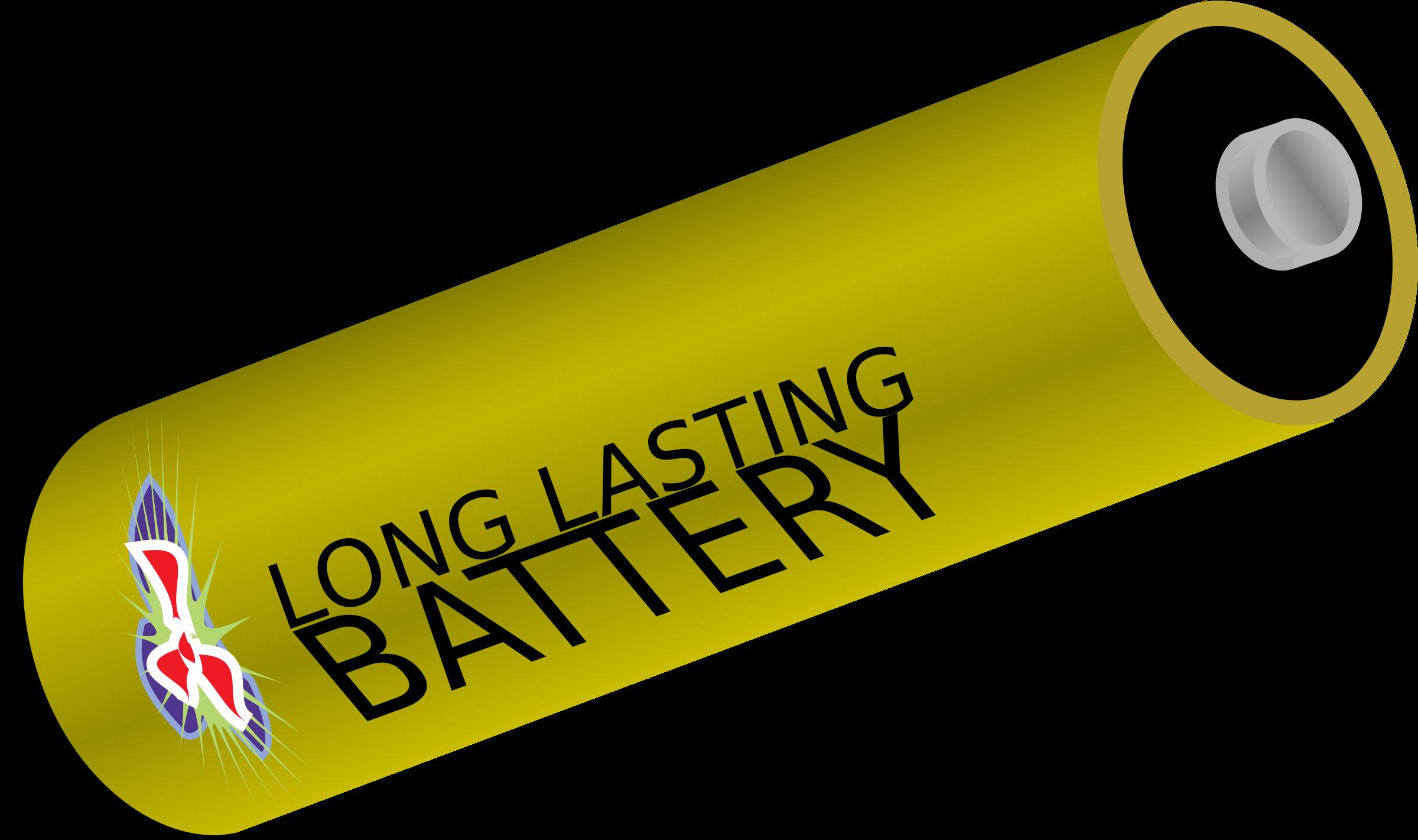 Big image png. Battery clipart cylinder