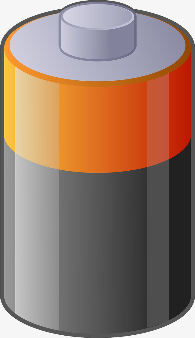 Battery clipart cylinder. Power supply source png