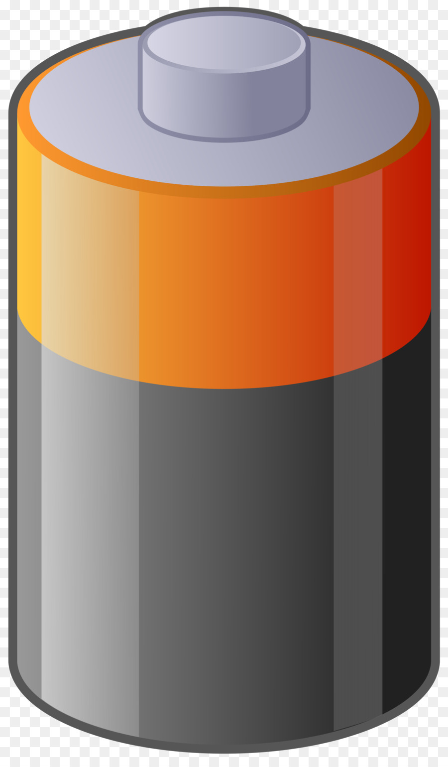 Cartoon png download free. Battery clipart cylinder