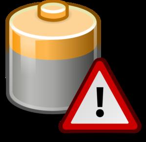 Caution clip art at. Battery clipart dead battery