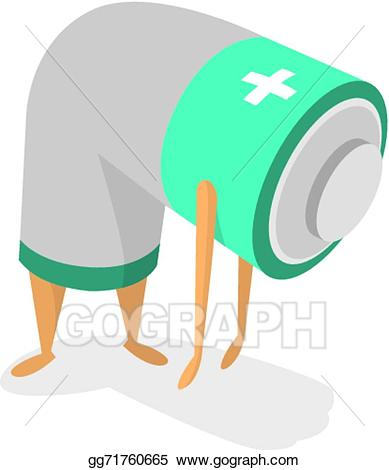 Vector art tired with. Battery clipart energy level