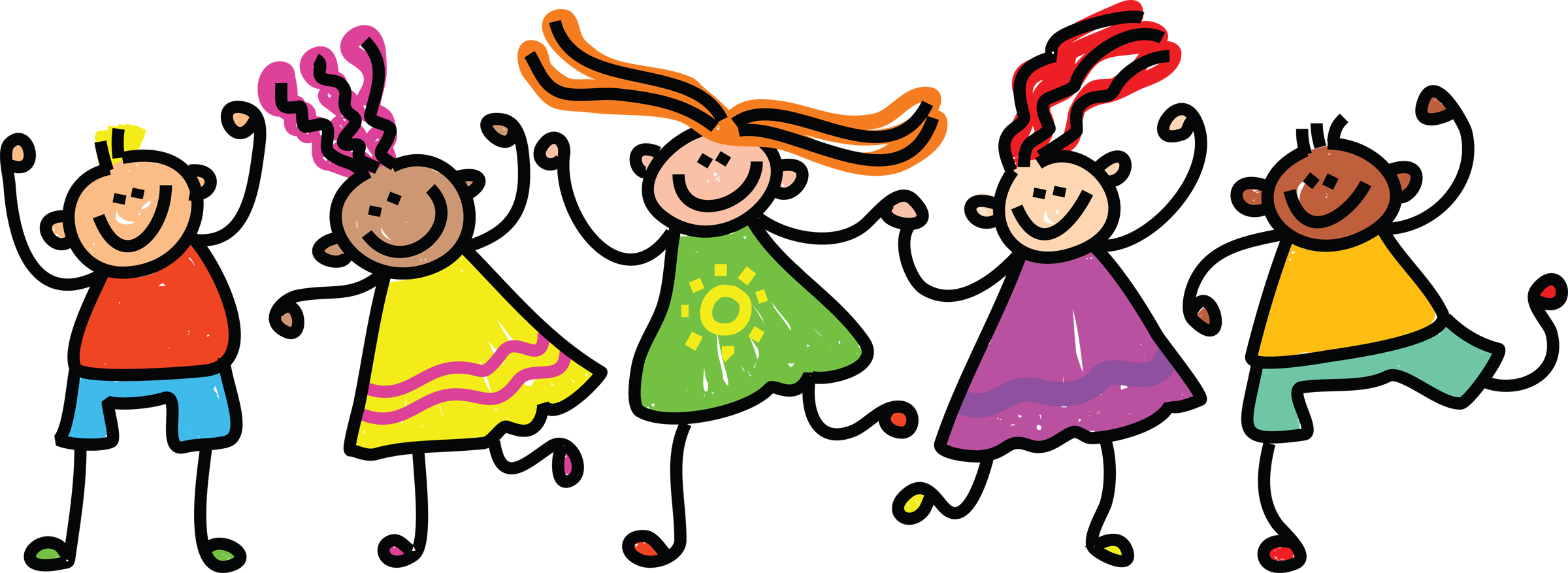 Free happy student download. Friendly clipart toddler friend