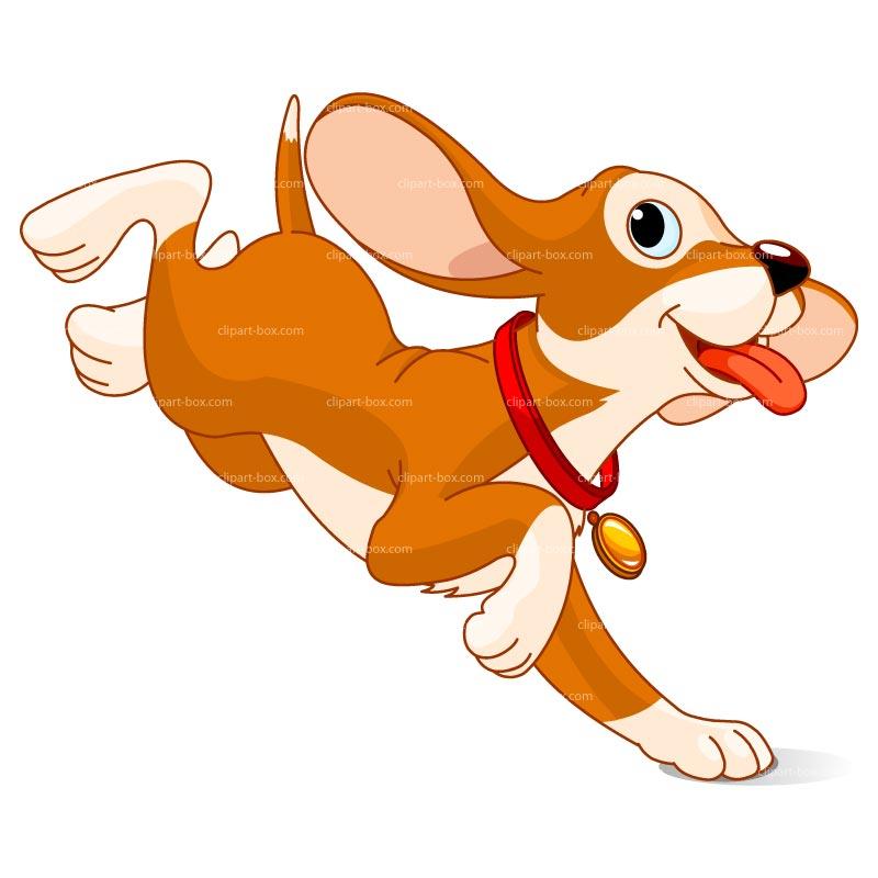 Dog free . Battery clipart happy