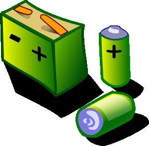 Battery clipart laptop battery. Batteries clip art at