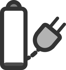 Charge clip art at. Battery clipart laptop battery