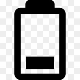 Charger euclidean vector icon. Battery clipart mobile battery