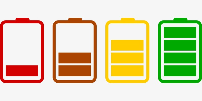Battery clipart mobile battery. Power colorful png image