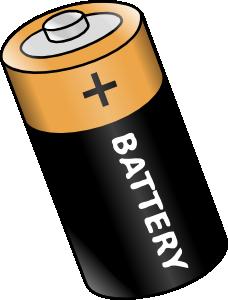 Battery clipart outline. Clip art at clker
