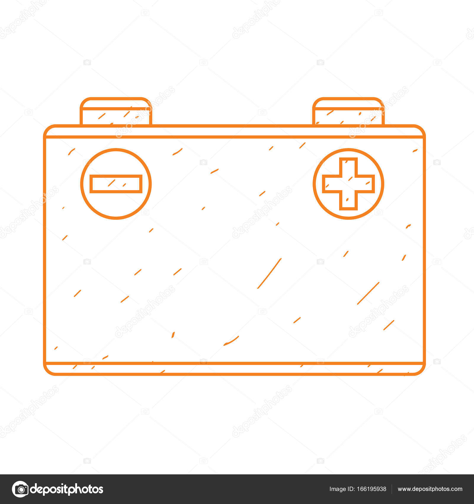 Battery clipart outline. Car drawing at getdrawings