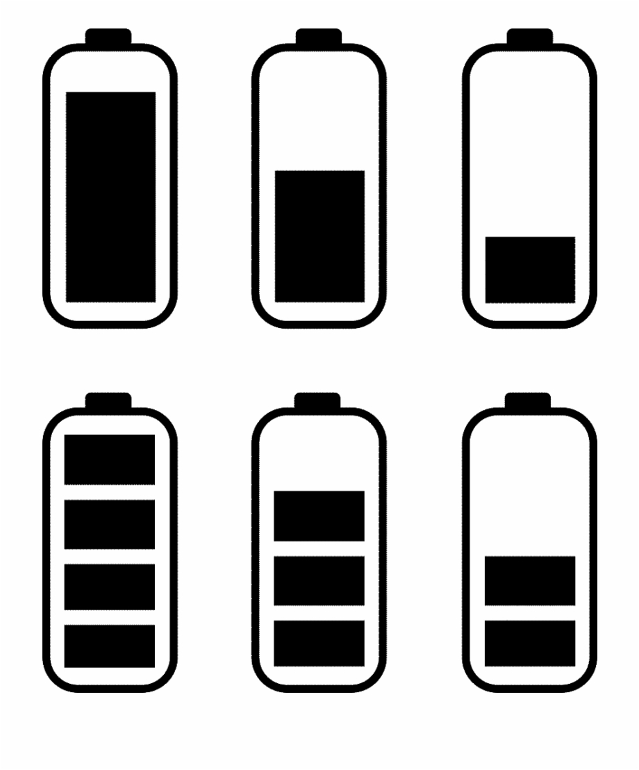 Battery clipart phone battery. Power black mobile png