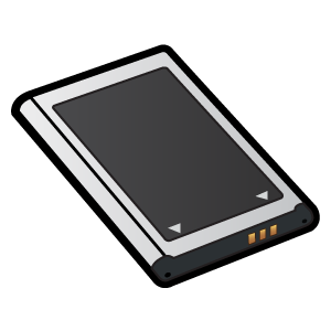 Black and white perfect. Battery clipart phone battery