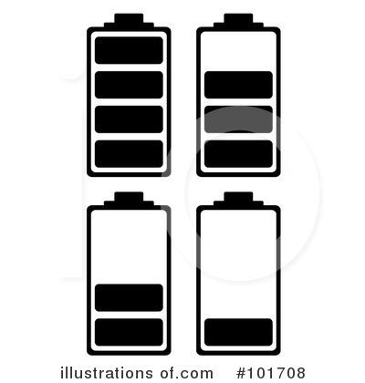Illustration by michaeltravers royaltyfree. Battery clipart phone battery
