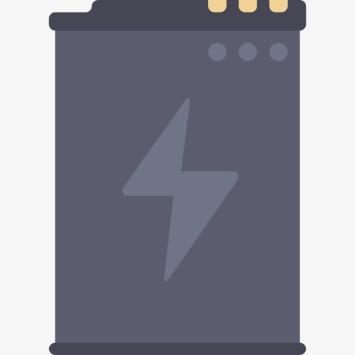 A cell cartoon charging. Battery clipart phone battery