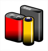 Battery clipart phone battery. Free batteries graphics images