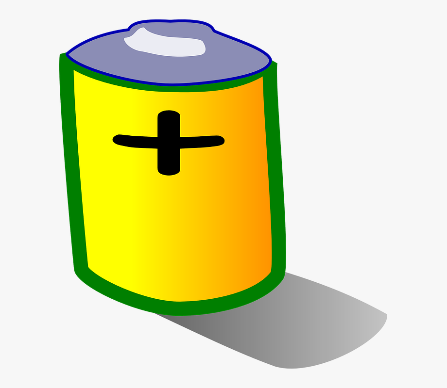 Battery clipart positive. Charge power supply recharge