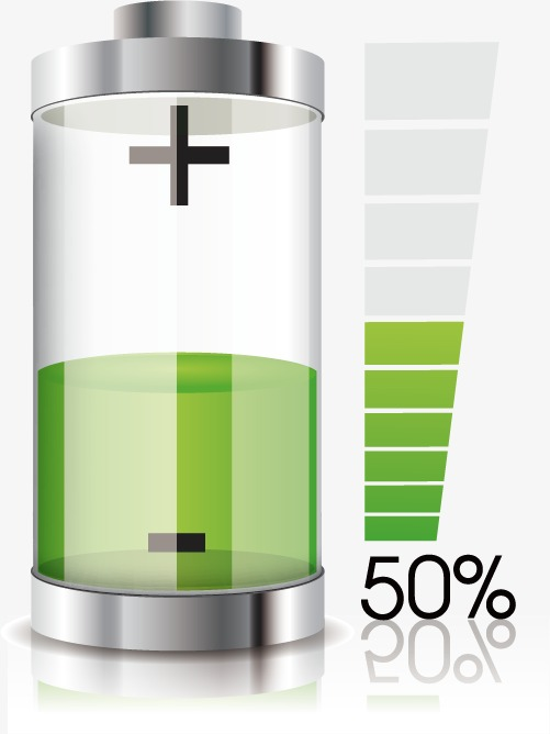 Battery clipart positive. Material icon and negative