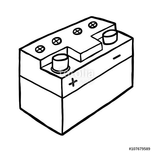 Batterie carton amazing download. Battery clipart sketch