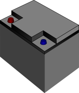 battery clipart square