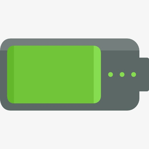Battery clipart square. Power display cartoon amount