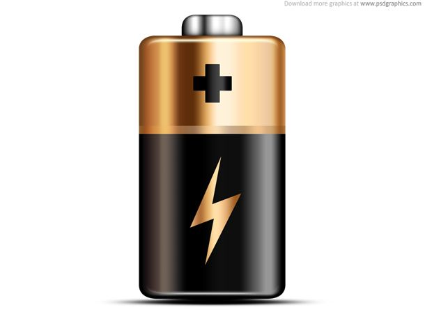 Battery clipart strong battery. Icon print sticker pinterest